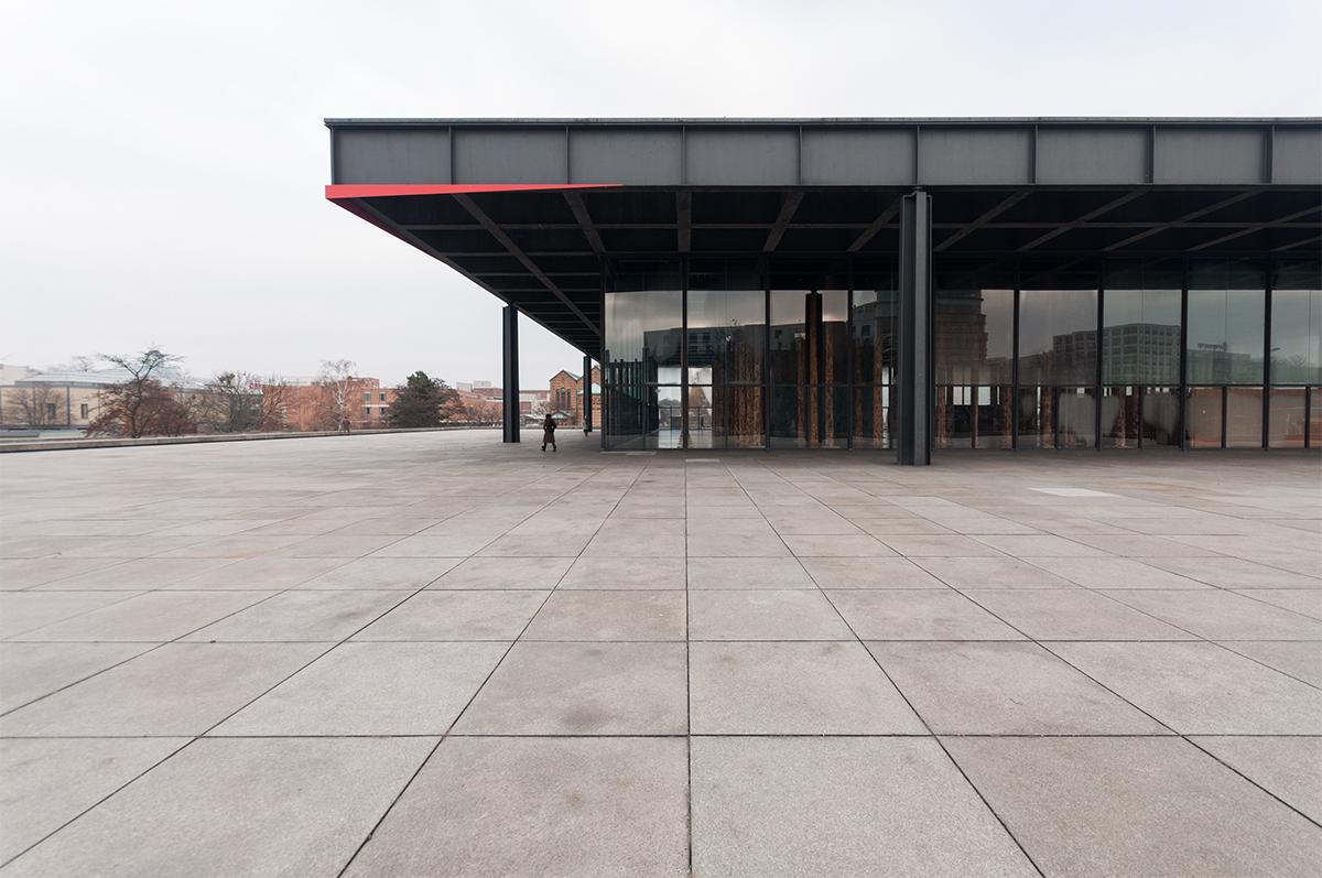 NATIONAL GALLERY BERLIN MIES VAN DE ROHE