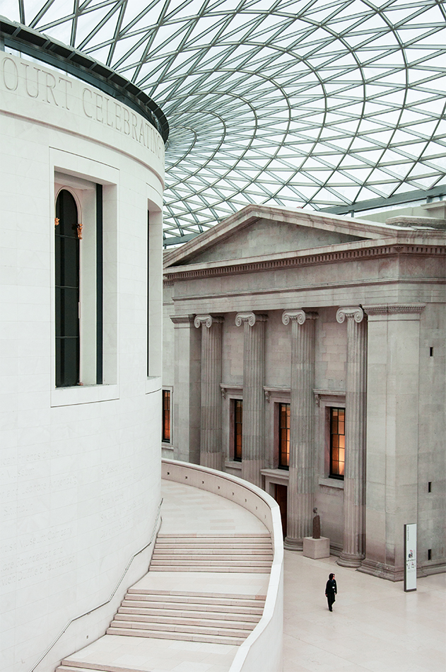 BRITISH MUSEUM NORMAN FOSTER LONDRES
