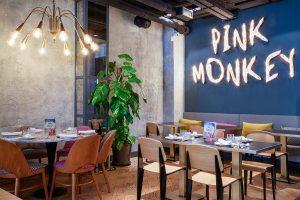 MARTA BANUS ARQUITECTURA INTERIORISMO MADRID REFORMA RESTAURANTE PINK MONKEY