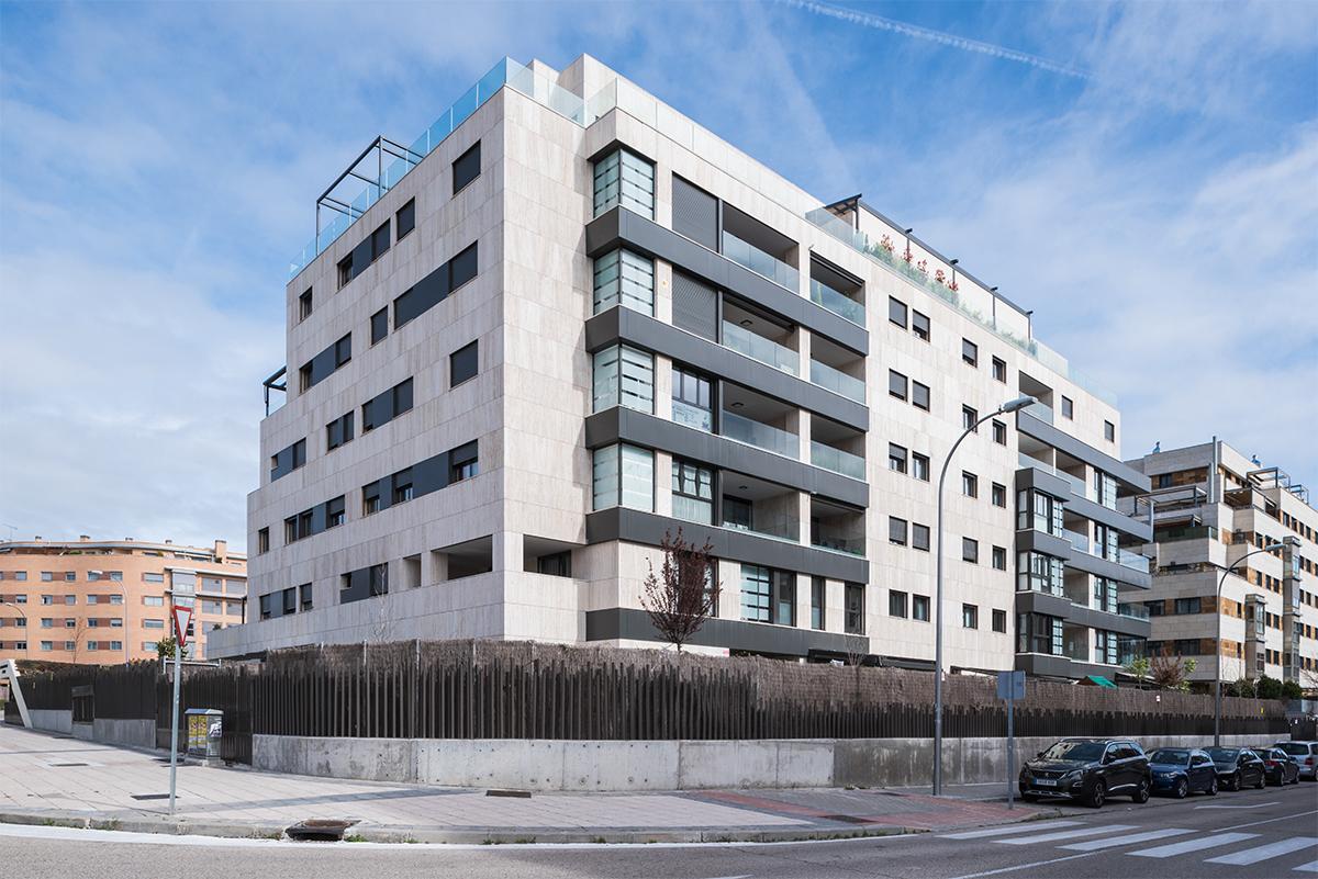 VIVIENDAS SANCHINARRO MORPH ESTUDIO MADRID CONSTRUCCION PROMOTORA