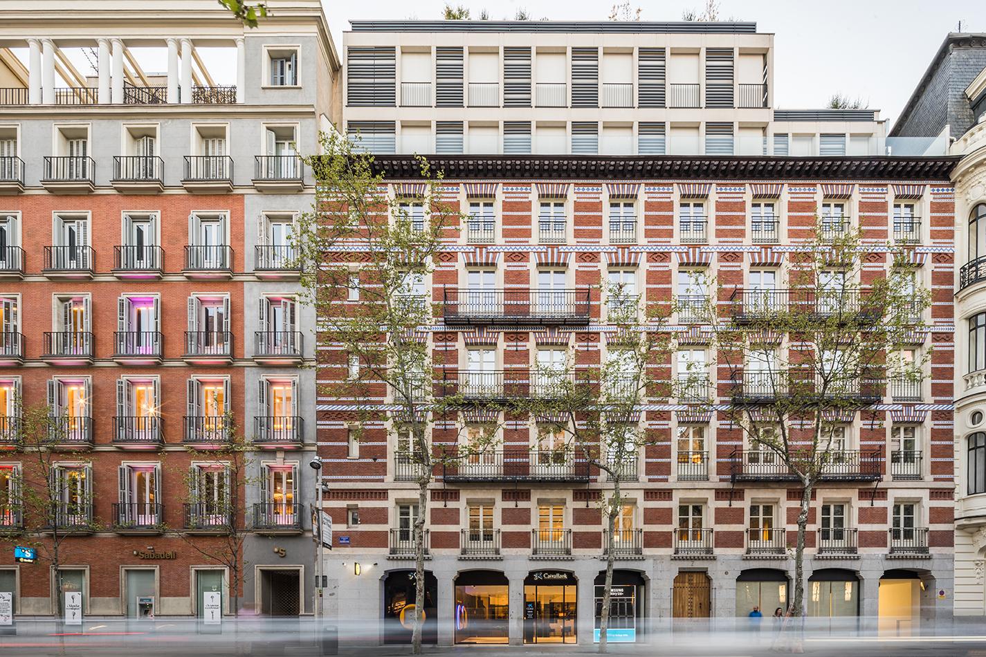 MADRID REFORMA OFICINA SUCURSAL BANCARIA CONSTRUCTORA ARQUITECTURA INTERIORISMO OBRA NUEVA